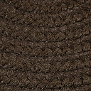 Boca Raton Hand-Braided Mink Indoor/Outdoor Area Rug By Colonial Mills