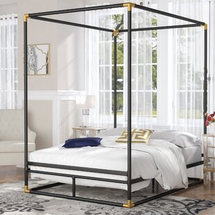 Ozzie Queen Canopy Bed