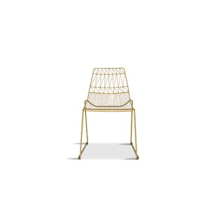 Syd Stacking Patio Dining Chair by Wrough..