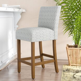 Thorndale Textured 30 Bar Stool by Rosecliff Heights