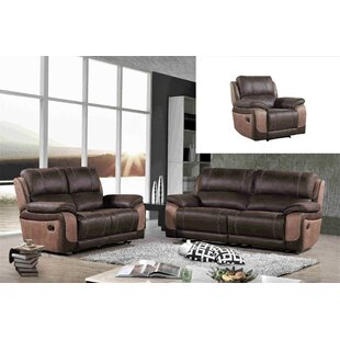 Aston Reclining 3 Piece Living Room Set b..