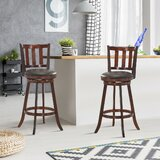 Cintron Swivel 25 Counter Stool (Set of 2) by Canora Grey