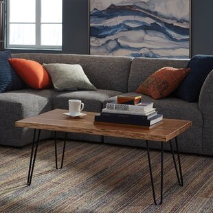 Best Reviews Tindle Live Edge Hairpin Coffee Table by Union Rustic Reviews (2019) & Buyer's Guide