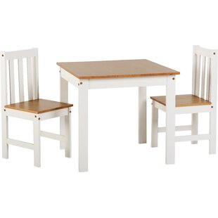 Bradmoor Dining Set With 2 Chairs By August Grove