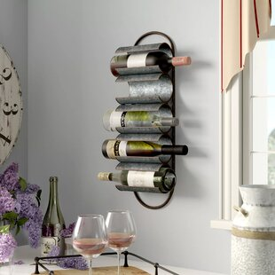 Alfred Galvanized 5 Bottle Wall Mounted W..