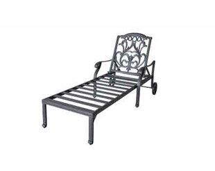 One Allium Way Pyxis Double Chaise Lounge