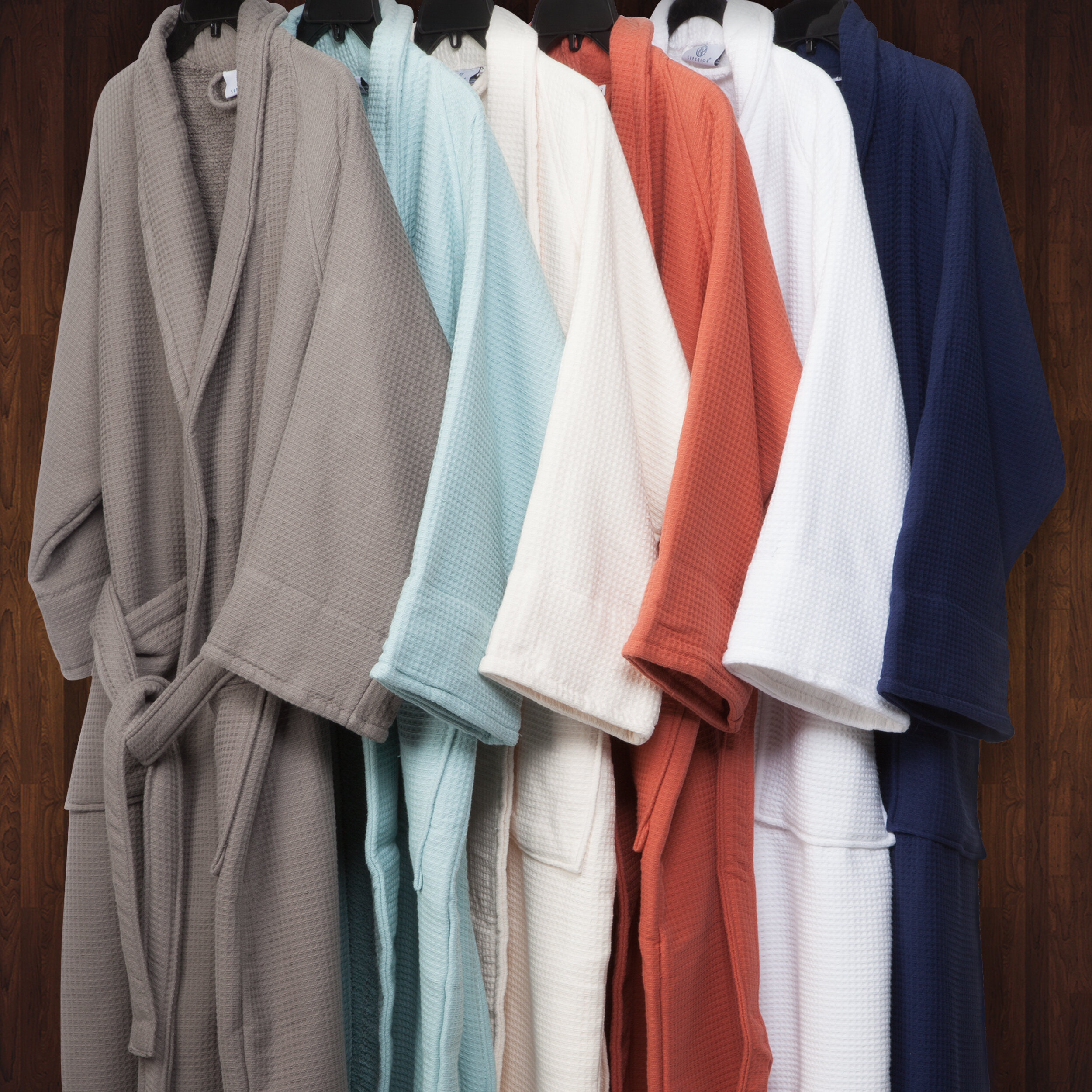 The Twillery Co. Whitman Superior 100% Cotton Waffle Weave Spa ...