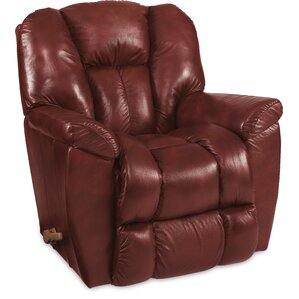 Maverick Leather Recliner. Red Maverick Leather Recliner  sc 1 st  Wayfair : red leather recliner - islam-shia.org