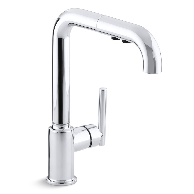 Kohler Purist Single-Hole Kitchen Sink Faucet with 8\