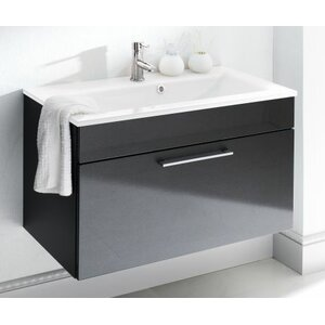Belfry Bathroom 90 cm Einzelwaschbeckenunterschrank-Set Heron
