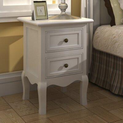 Nachttisch   Schlafzimmer > Nachttische   Weiß   Kiefernholz - Lackiert   Home Etc