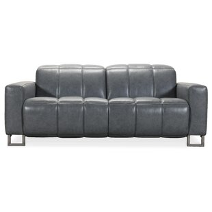 Giancarlo Leather Reclining Loveseat by Hooker Furniture