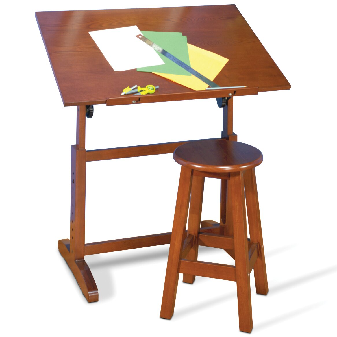 Studio Design Drafting Table zenith drafting table studio designs drafting table Creative Hardwood 36w X 24d Drafting Table And