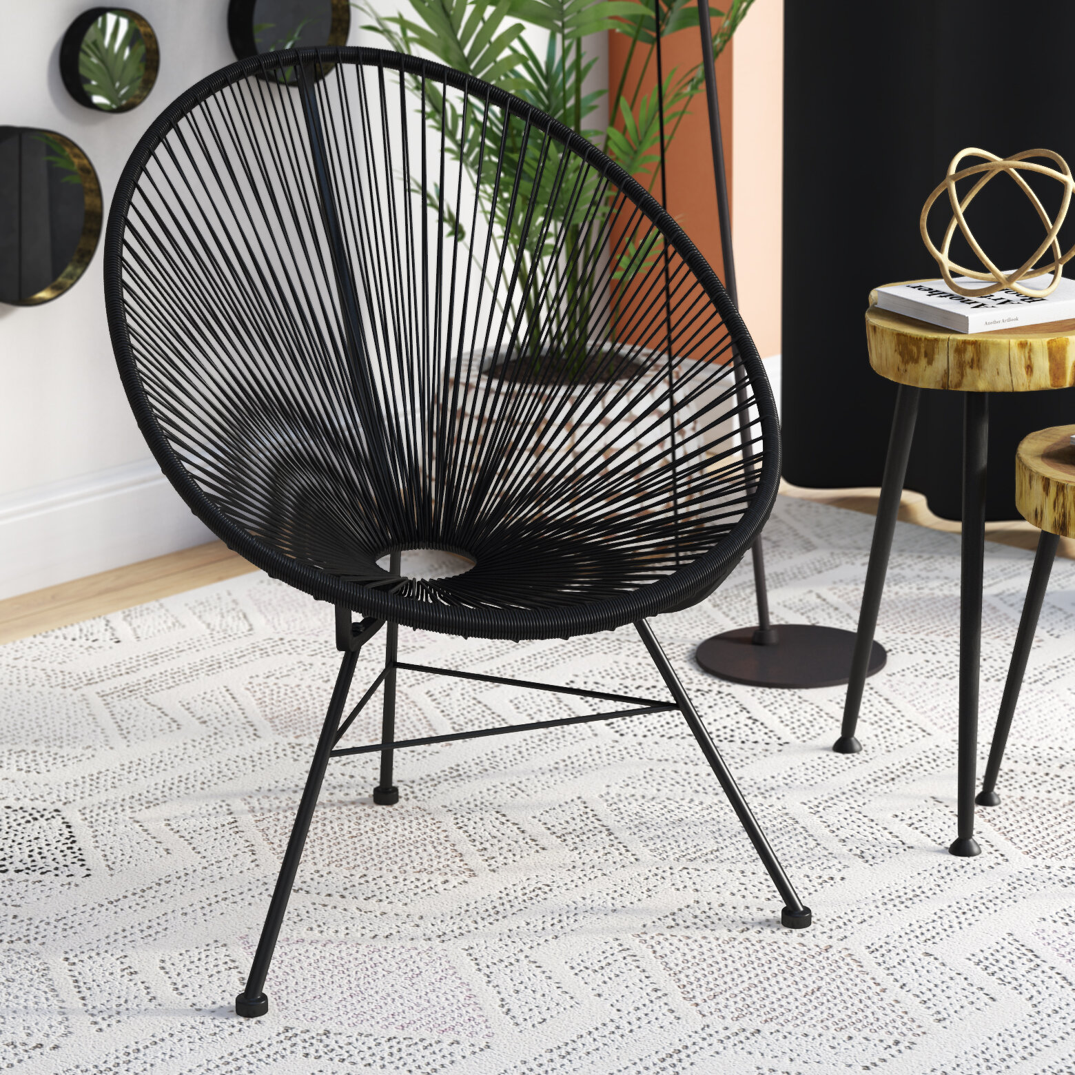 Ivy Bronx Bradley Papasan Chair & Reviews | Wayfair