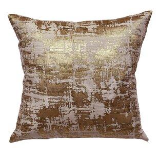 Metallic Gold Pillow Cover Wayfair