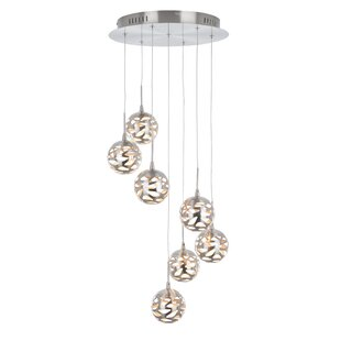Amundson Suspended 7-Light LED Cluster Pendant