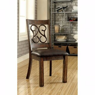 Crumley Upholstered Dining Chair (Set of 2) by Fleur De Lis Living