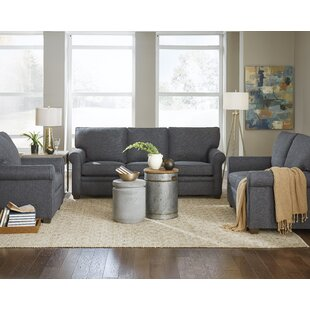 Darby Home Co Tamra 3 Piece Living Room Set