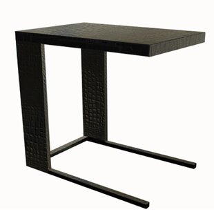 Serge De Troyer Collection Leather End Table