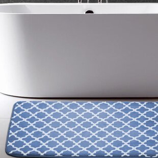 Osmond Flannel Memory Foam Bath Rug by Andover Mills