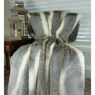 Loon Peak Weigel Luxury Tissavel Chinchilla Bedspread