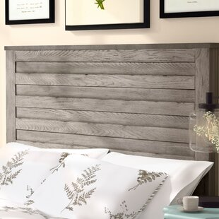 Gavin Weathered Horizontal Overlay Wood Queen Panel Headboard by Gracie Oaks