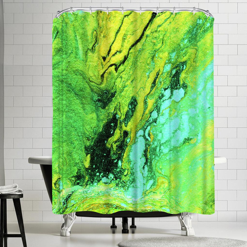 East Urban Home Ashley Camille Rough Single Shower Curtain Wayfair
