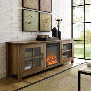 Affordable Daily TV Stand for TVs up to 78 with Electric Fireplace by Charlton Home Reviews (2019) & Buyer's Guide