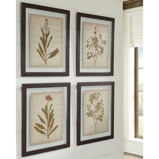 a86948f95108 4 Piece Framed Painting Print Set