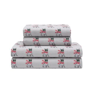 Ruby Holiday Microfiber Print Sheet Set