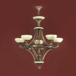 Zanin Lighting Inc. Tobera 5-Light Shaded Chandelier