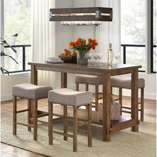 Comparison Hendina 5 Piece Pub Table Set By Gracie Oaks