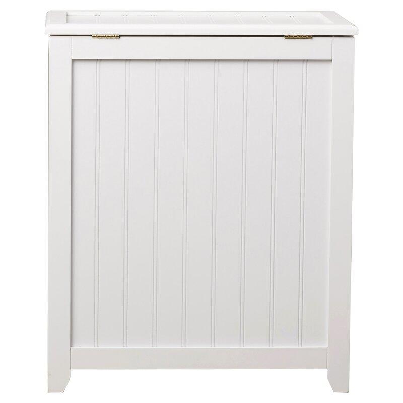 Beachcrest Home Cabinet Laundry Hamper