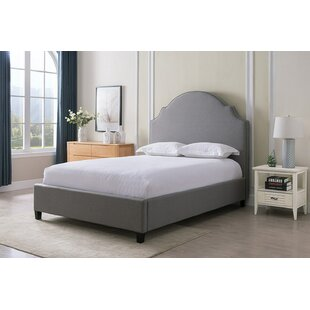 Low priced Newson Upholstered Panel Bed by Charlton Home Reviews (2019) & Buyer's Guide