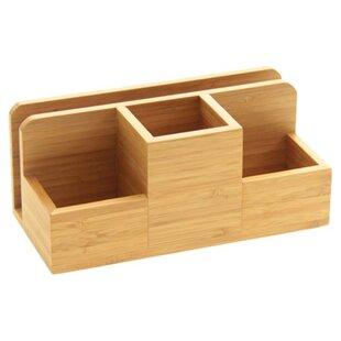 Stationery Box II Desk Organiser By Symple Stuff