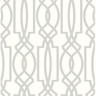 Starnes Deco Lattice 216 L X 20 5 W And Stick Wallpaper Roll