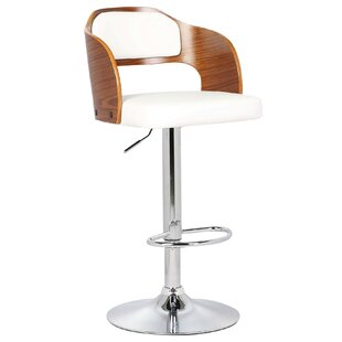 Reviews Fleur Adjustable Height Swivel Bar Stool by Porthos Home Reviews (2019) & Buyer's Guide