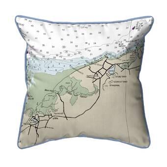 Breakwater Bay Gemma Montauk Lighthouse Non Corded Indoor Outdoor Lumbar Pillow Wayfair
