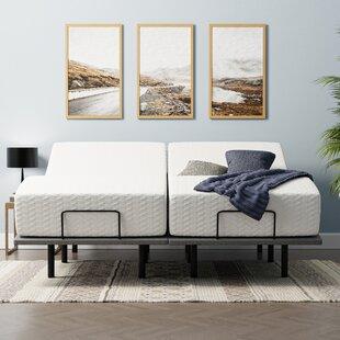 Wayfair Sleep 12 Medium Gel Infusion Memory Foam Mattress and Adjustable Base