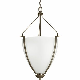 Fleur De Lis Living Karla 1-Light Bowl Pendant
