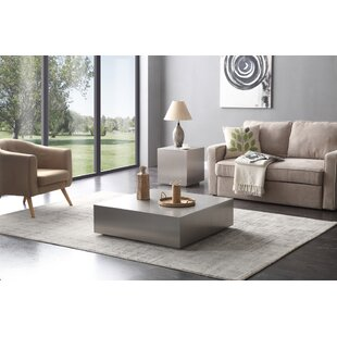 Hundley 2 Piece Coffee Table Set Orren Ellis