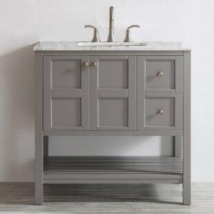 36 inch gray bathroom vanities you ll love wayfair rh wayfair com