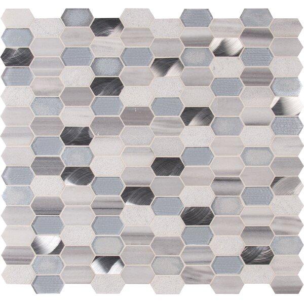 Glass Stone Mosaic Tile Wayfair