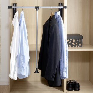 Menchaca Adjustable Clothes Storage System By Rebrilliant