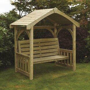 Triglav Molten Wooden Arbour By Home Etc