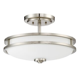 Roberson 3-Light Semi Flush Mount by Darby Home Co