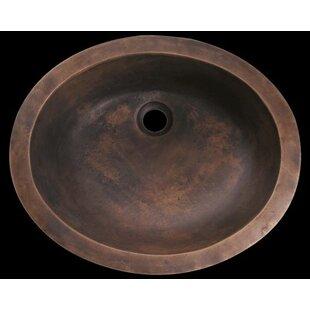 Polaris Sinks Metal Oval Undermount Bathr..