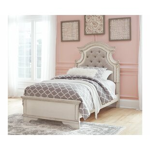 Affordable Thora Upholstered Panel Headboard by Harriet Bee
