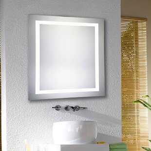 Best Price Electric Bathroom/Vanity Mirror By Latitude Run