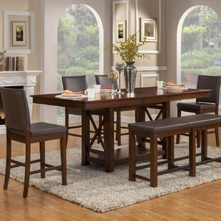 Wayland 6 Piece Extendable Dining Set Loon Peak